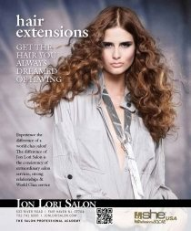 Hairextensions, diverse sponsor links